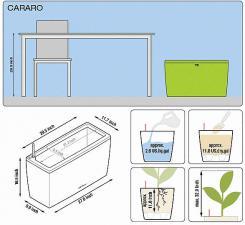 кашпо Cararo с системой полива