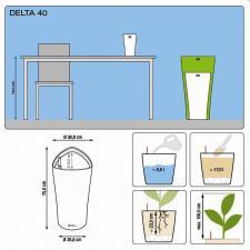 Кашпо Delta 40 с системой полива
